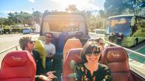Small-Group Open-Top Minibus, Boat Ride, and Helicopter Flight or Cable Car Tour in Barcelona, ...