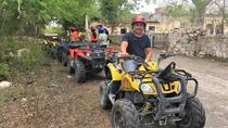 ATV Tour of Ghost Town Misnebalam and Break at Silcer Beach Club , Progreso, Ports of Call Tours