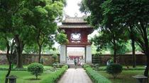 4-hour Motorbike Tour to City Sights & Temple of Literature, Hanoi, Literary, Art & Music Tours
