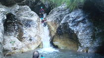 FAMILY CANYONING IN SOCA VALLEY, Bovec, Climbing