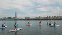 Stand Up Paddleboard Board Lesson and Tour on Han River, Seoul, Stand Up Paddleboarding