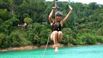 Private Tour: Gaya Island Hike and Zipline Adventure from Kota Kinabalu, Kota Kinabalu, null