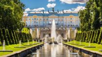 St.Petersburg Imperial Residences: Tour of Catherine Palace and Peterhoff Gardens, St Petersburg, ...