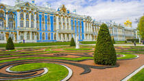 St.Petersburg Imperial Residences: Tour of Catherine Palace and Peterhoff Gardens