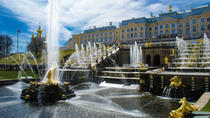 St.Petersburg Imperial Residences: Tour of Catherine Palace and Peterhoff Gardens, St Petersburg,...