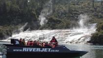 Jet Boat Ride on Waikato River Including Tutukau Gorge and Orakei Korako, ロトルア