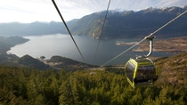 Ingresso para a Sea to Sky Gondola, Squamish