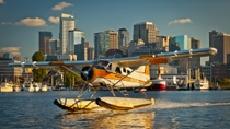 Seattle Flug mit dem Wasserflugzeug vom Lake Union, Seattle, Air Tours