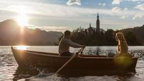 Rent a traditional wooden boat, Bled
