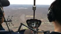 Helicopter Flight Lesson Above New York, New York