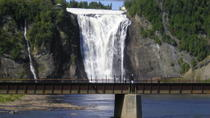 Montmorency Falls Bike Tour in Quebec, Quebec City, Helicopter Tours