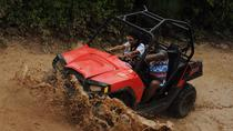 Playa del Carmen Combo Tour at Selvatica: Off-Road Buggy, Aerial Bridges and Zipline Adventure,...