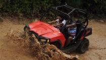 Playa del Carmen Combo Tour: Off-Road Buggy, Aerial Bridges and Zipline Adventure, Playa del...