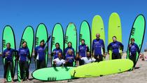 Surf day at Porto Surf School 3h surf lesson with transport from the city center, Porto, Surfing...