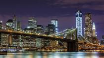 NYC at Night: Sightseeing Cruise and Bus Tour, New York City, null