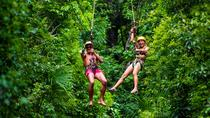 7 ZIP LINES AND CENOTE SWIM FROM PLAYA DEL CARMEN AND MAYAN RIVIERA, Playa del Carmen, Ziplines