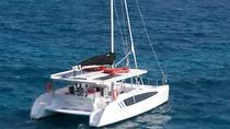 Negril seven Miles Beach & Rick's Cafe Sun Set: with Open Bar Catamaran, Montego Bay, Cultural...