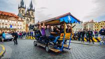 Beer Bike Tour All you Can Drink in Prague's Historic Old Town up to 17 People, Prague, Bike &...