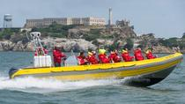 RIB-speedboot naar Alcatraz en San Francisco Bay, San Francisco