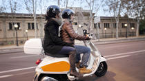 Small-Group Barcelona Night Tour By Vespa, Barcelona, Vespa, Scooter & Moped Tours