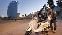 Vespa GPS Guided 6-hour Tour in Barcelona, Barcelona, Vespa, Scooter & Moped Tours