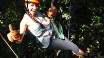 Zip lining, rappel and a Tarzan Swing, Quepos, Ziplines
