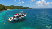 All day snorkel beach boat tour to flamenco beach in Culebra Island, Fajardo, Flamenco
