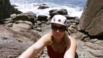 Beginner Rock Climbing Adventure Tour, St Thomas, Climbing