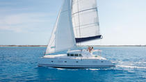 Lagoon 500 Santorini Catamaran Cruise, Santorini, Sailing Trips