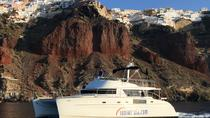 Private Catamaran Day Tour in Santorini Including Lunch and Drinks, Santorini, Sailing Trips