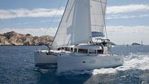Private Tour: Lagoon 400 Sailing in Santorini with Lunch and Drinks, Santorini, Catamaran Cruises