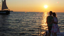 Sunset Sailing Catamaran Cruise in Santorini with BBQ and Drinks, Santorini, Sailing Trips