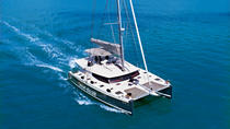 Viator Exclusive: Santorini Luxury Catamaran Day Cruise with BBQ and Drinks, Santorini, Viator ...