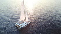 Viator Exclusive: Santorini Luxury Catamaran Sunset Cruise with BBQ and Drinks, Santorini, Viator ...