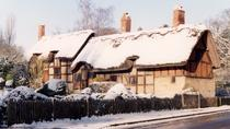Casa donde nació Shakespeare: entrada Winter 4 House en Stratford-Upon-Avon, ...