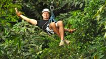 Zip Line with Horseback Riding and Waterfalls Combination Tour, Jaco, Horseback Riding