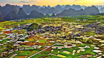 One Day Idyllic Karst Scenery Hiking in Huixian, Guilin, Hiking & Camping