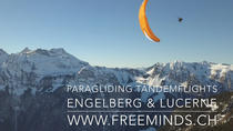 Paragliding Tandemflight Engelberg and Lake Lucerne, Central Switzerland, Paragliding