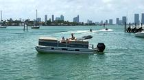 Rent and Captain a 18ft Pontoon boat in Miami, Miami, Other Water Sports