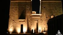 Sound and Light Show at Philae Temple in Egypt, Aswan, Light & Sound Shows