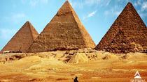 Tour to Pyramids, the Egyptian Museum, Khan Khalili Bazaar and Sound & Light Show, Cairo, Light &...