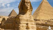 Tour to Pyramids, the Egyptian Museum, Nile lunch cruise and Sound & Light Show, Cairo, Light &...