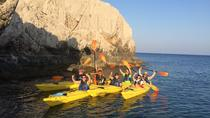 SeakayakFOOTSTEPS OF PIRATES rocky formations sea caves snorkeling sandy beaches, Rhodes, 4WD, ATV ...