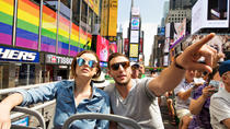 NYC hele stad: hop-on hop-off tour en Vrijheidsbeeld-cruise, New York City, Hop-on Hop-off Tours
