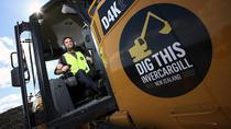 Big Dig Excavator, Dig This Invercargill, Invercargill, 4WD, ATV & Off-Road Tours