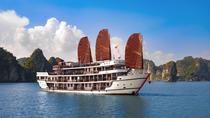 Overnight Luxury 5 Star Alisa Premier Cruise with Meals, Transportation & Kayak, Halong Bay,...