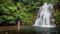 Waterfall Heli- Trek, Playa Hermosa, Hiking & Camping