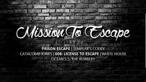 Mission to Escape Lisbon - the biggest escape room in Portugal, Lisbon, Escape Games