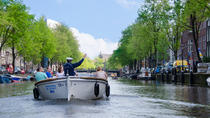 Rondvaart in een open boot door Amsterdam, Amsterdam, Day Cruises