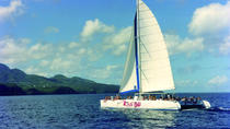 Private Catamaran Day Cruise out of Soufriere, St Lucia, Catamaran Cruises